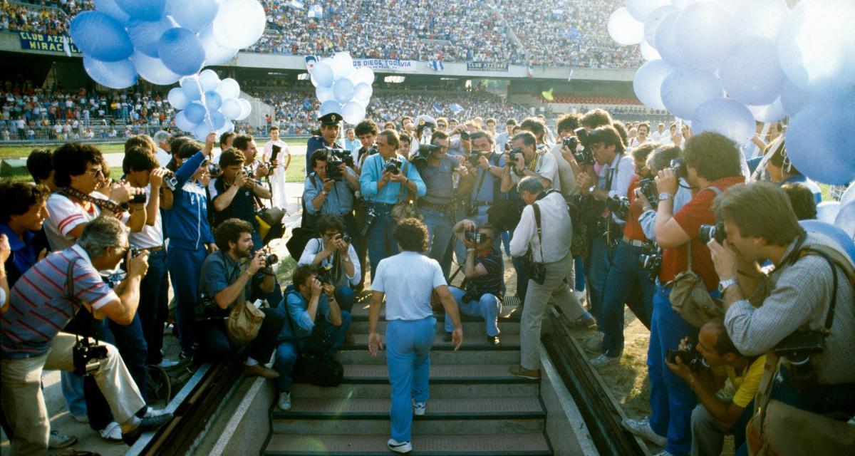 Diego Maradona : une carrière exceptionnelle en chiffres (Vidéo)