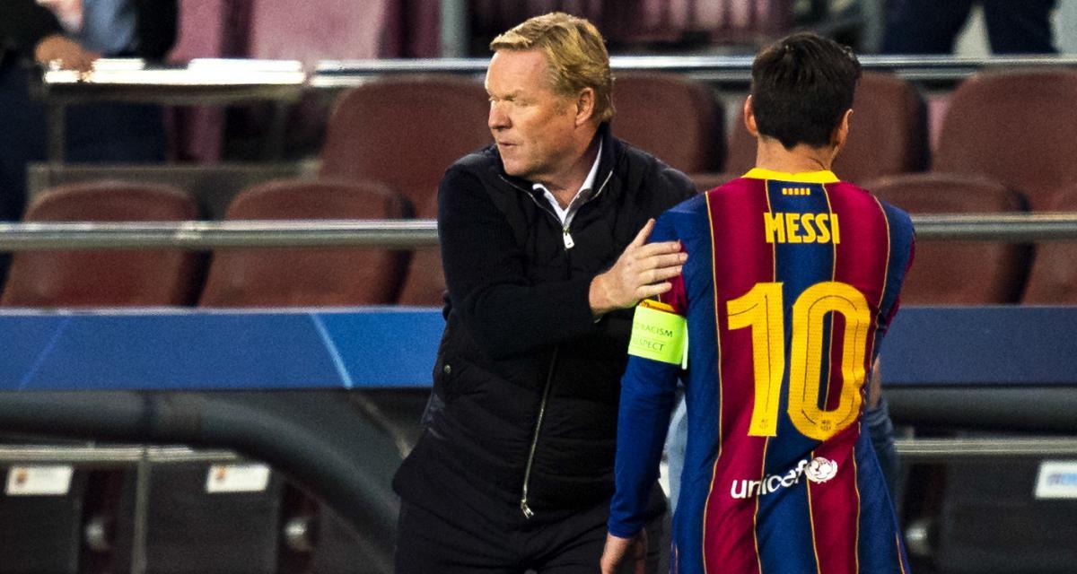 FC Barcelone: Koeman aurait convaincu Messi de sauver le club!