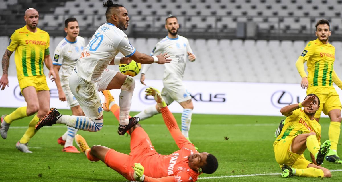 Résultat Ligue 1 : l'OM se relance devant le FC Nantes (3-1)