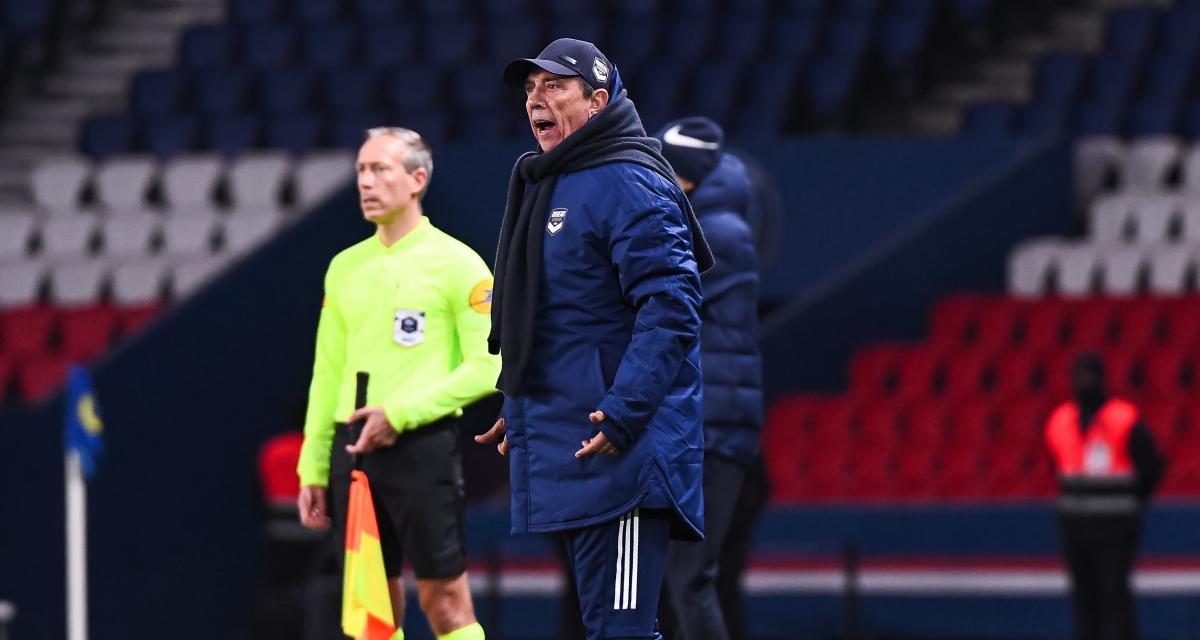 PSG – Girondins (2-2) : Gasset a déjà pardonné la boulette décisive de Ben Arfa