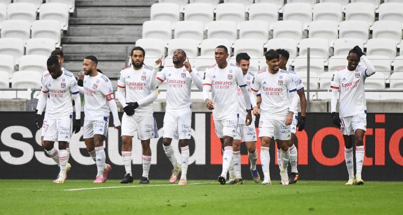 Résultat Ligue 1 : l'OL a la mainmise sur le match face à Reims (1-0, mi-temps)