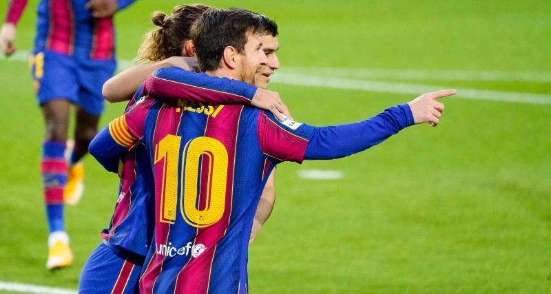 FC Barcelone : Griezmann, un golazo et un coup de pouce pour éteindre l'incendie avec Messi