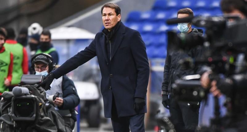 OL - Stade de Reims (3-0) : Rudi Garcia s'enflamme pour ses attaquants