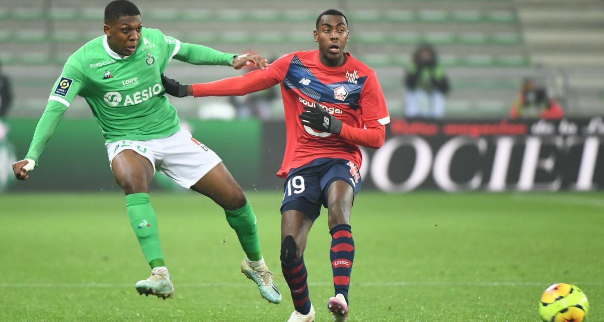 Résultat Ligue 1 : l'ASSE surprend le LOSC (1-0, mi-temps)