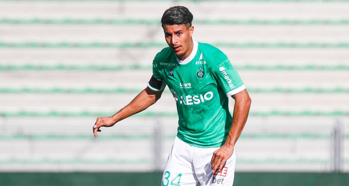 ASSE – Exclu BUT ! : Son parcours, sa saison, ses objectifs... les confidences du jeune Aïmen Moueffek