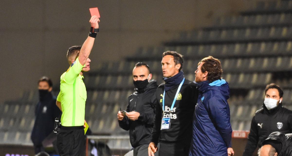 Nîmes - OM (0-2) : Villas-Boas revient sur son dérapage avec l'arbitre