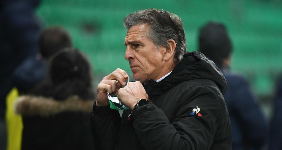 ASSE : Puel dévoile son groupe pour Dijon, un attaquant mis de côté ?