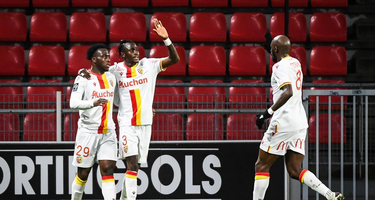 Résultat Ligue 1 : le RC Lens en route vers un coup parfait à Rennes ? (0-1, mi-temps)