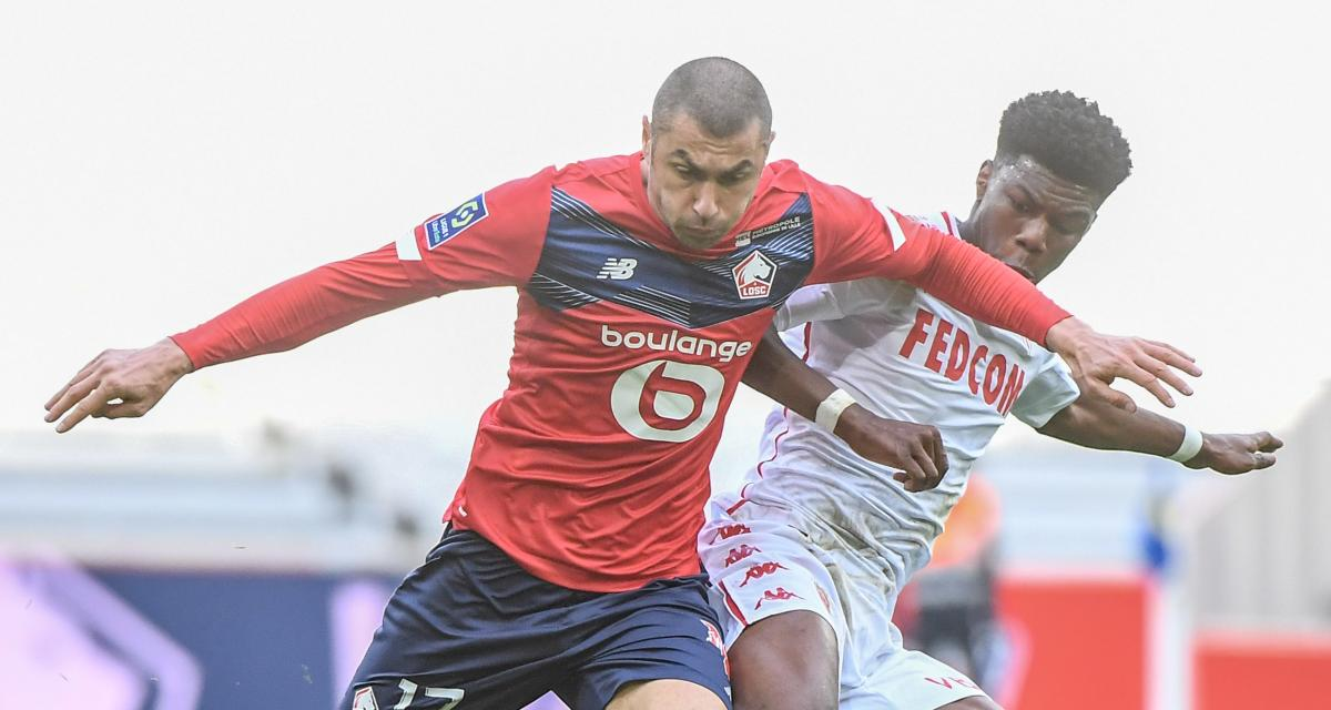 Résultat Ligue 1 : LOSC 0-0 AS Monaco (mi-temps)