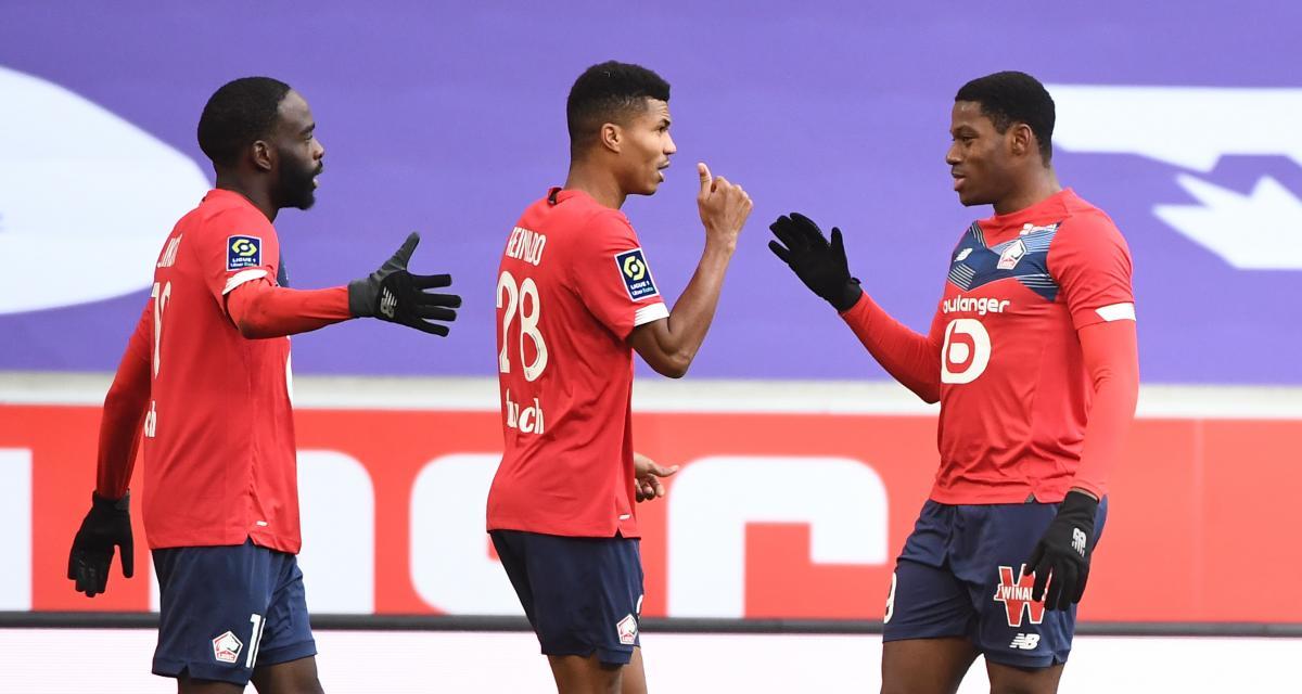 Résultat Ligue 1 : LOSC 2-1 AS Monaco (terminé)
