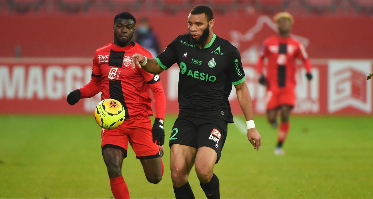 """Dijon FCO - ASSE (0-0) : Moukoudi retient """"l'état d'esprit"""", Kolodziejczak attend """"un déclic"""""""