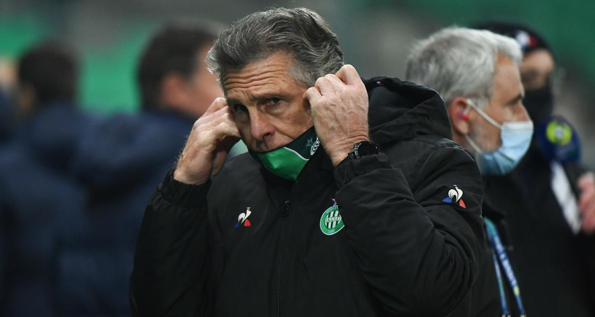 ASSE : Claude Puel rumine en silence après Dijon
