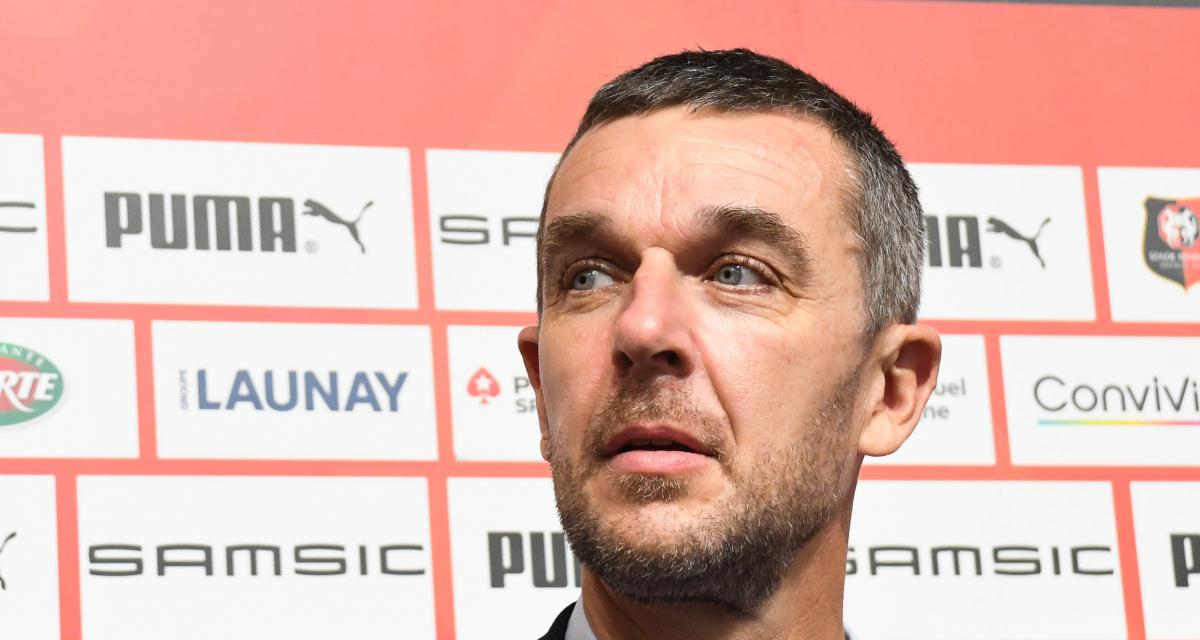 Stade Rennais : Stéphan, Maurice... Nicolas Holveck joue la transparence