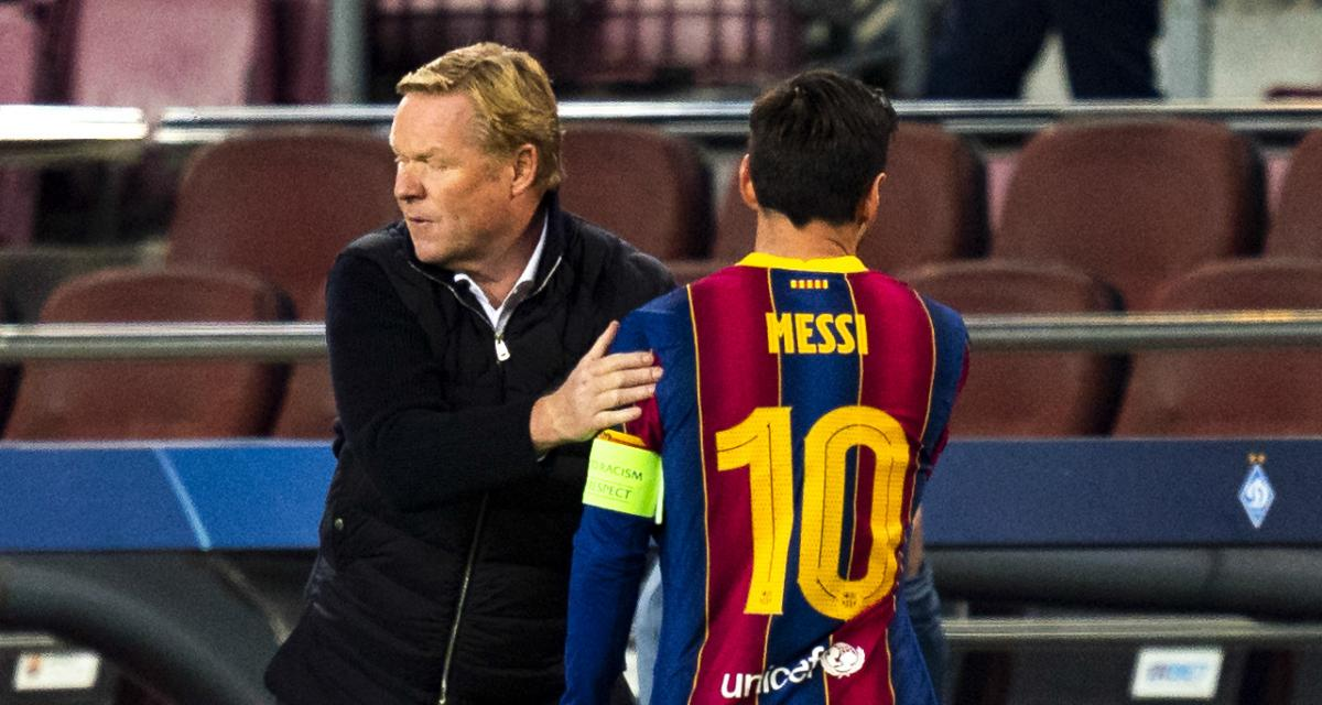 FC Barcelone : Messi à l'initiative d'une révolution contre Koeman ?