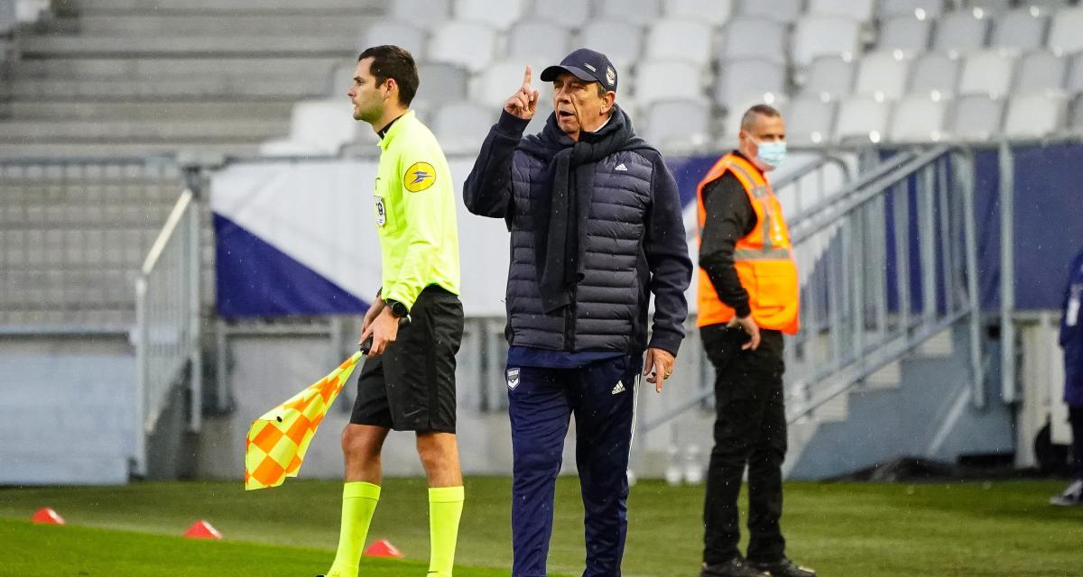 Girondins – Mercato: Gasset face à d'inquiétantes perspectives pour janvier