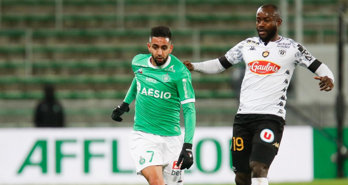 ASSE – SCO Angers (0-0) : Boudebouz voit un changement prometteur se profiler en interne