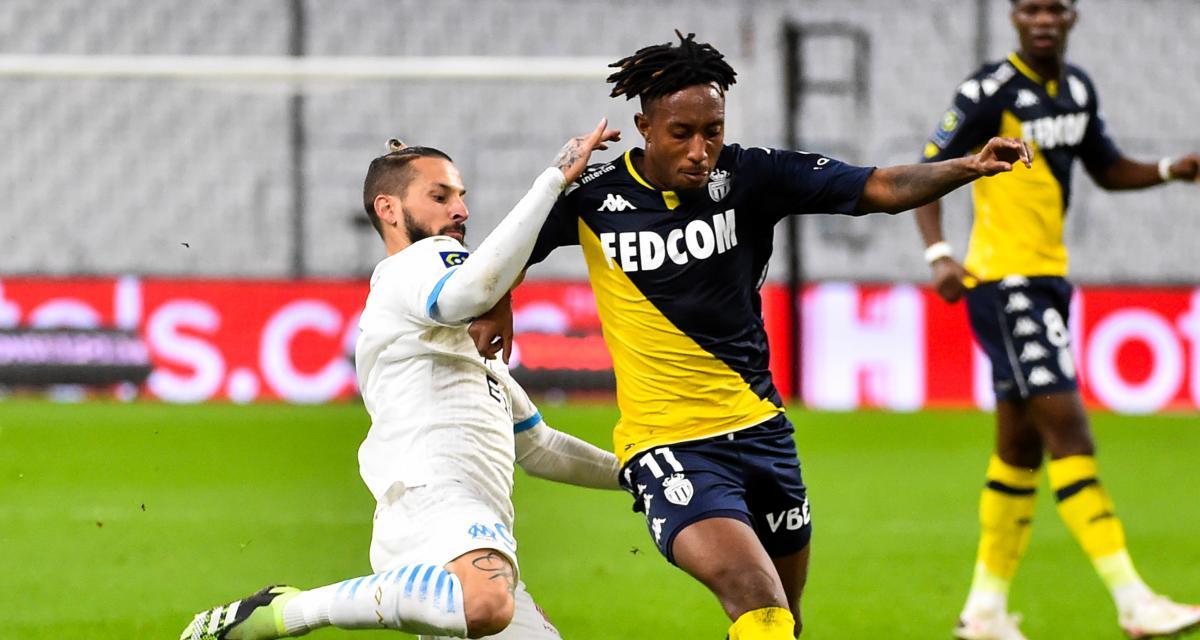 Résultat Ligue 1 : l'OM s'impose dans la douleur contre Monaco (2-1)