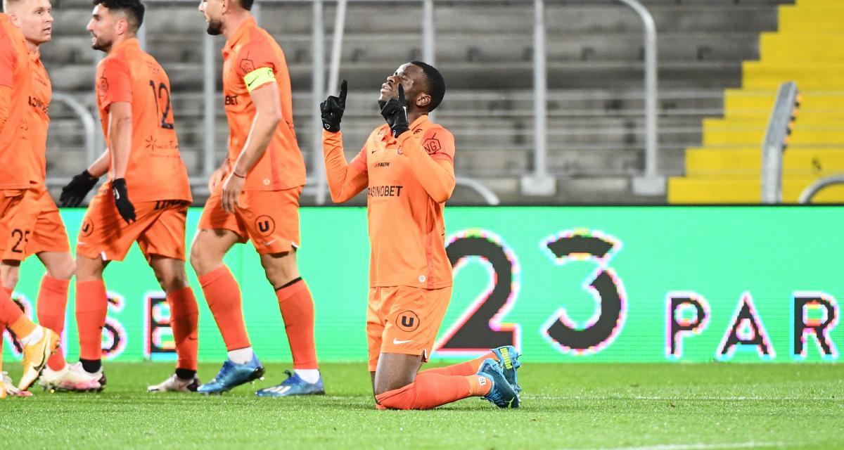 Résultat Ligue 1 : le RC Lens puni par Montpellier à la pause (1-2, mi-temps)