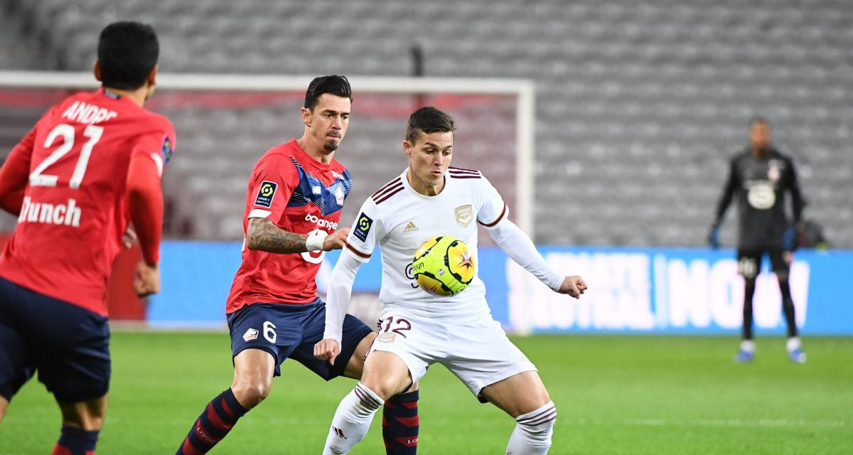 Résultat Ligue 1 : LOSC - Girondins (mi-temps : 2-1)