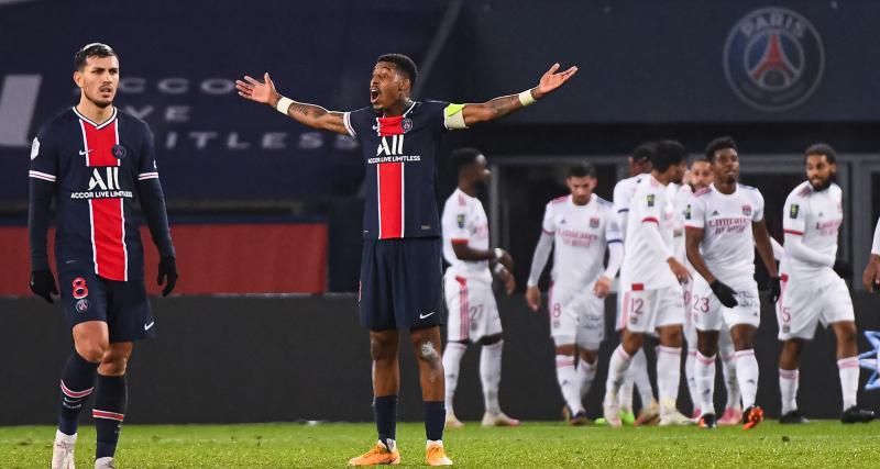 PSG : les notes des Parisiens lors de la défaite face à l'OL (0-1)