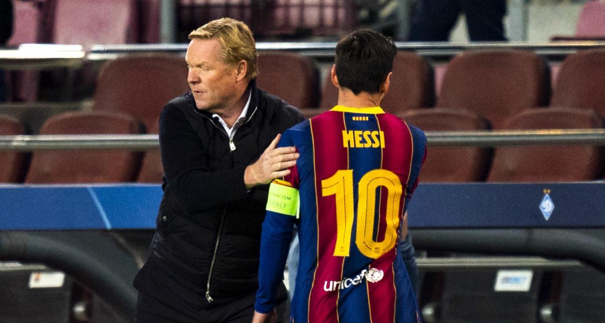 FC Barcelone - Mercato : Koeman s'y met aussi pour détourner Messi du PSG