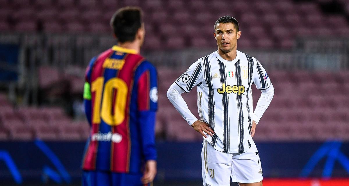 Juventus, FC Barcelone: Cristiano Ronaldo a repris les commandes face à Messi en 2020
