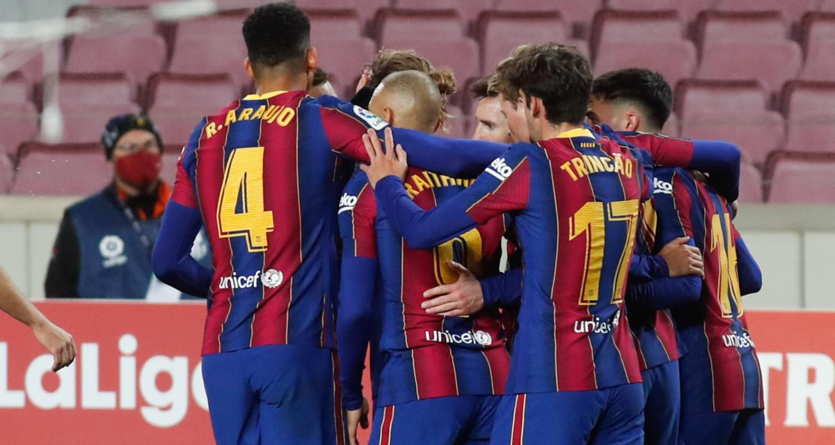 Résultat Liga : FC Barcelone - Real Sociedad (2-1, terminé)