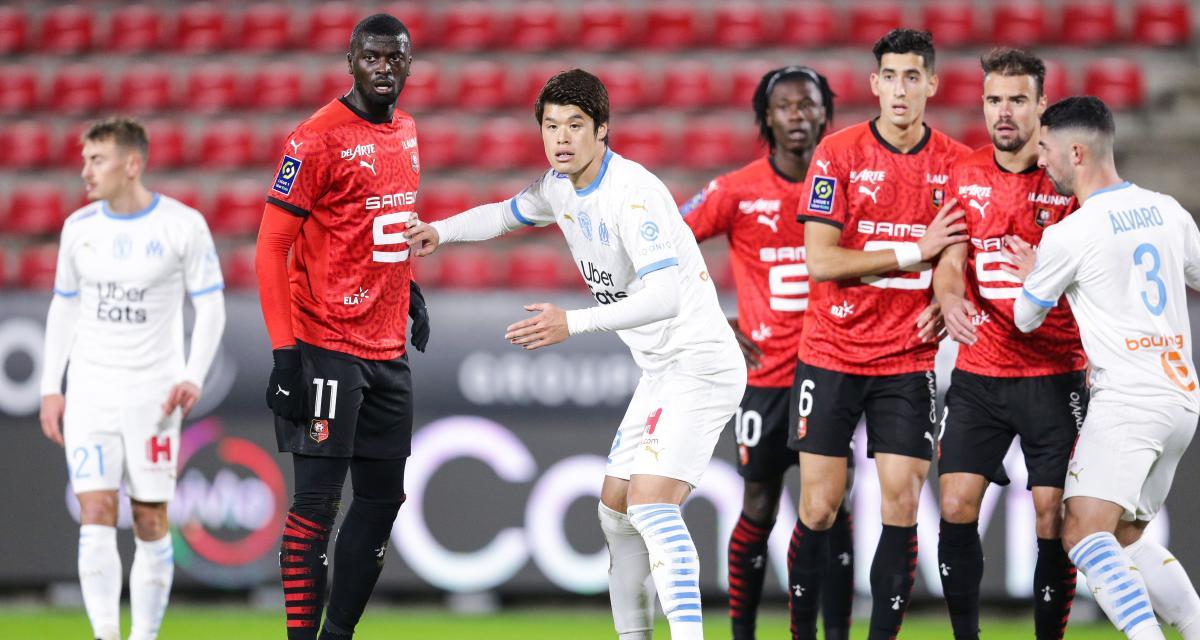 Stade Rennais - OM (2-1) : les tops et les flops après la victoire rennaise