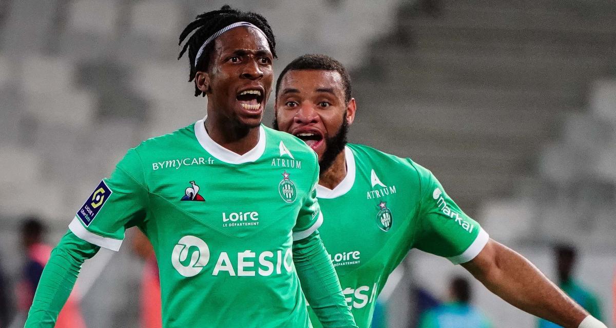 Girondins – ASSE (1-2) : Neyou le héros savoure son but et la victoire des Verts