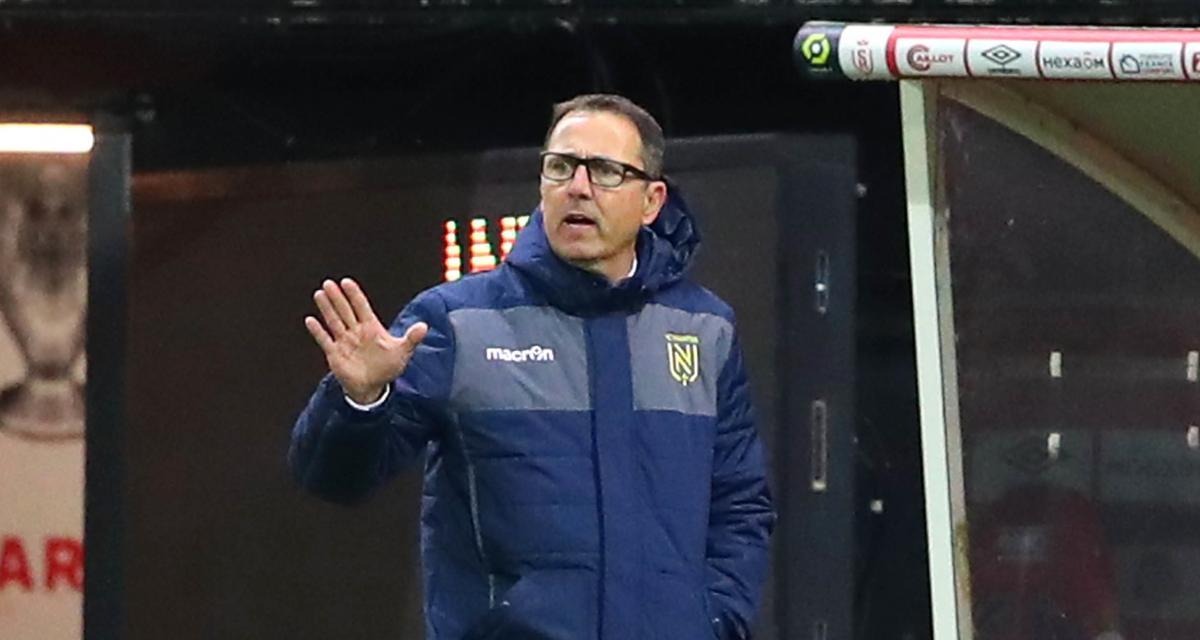 Stade de Reims - FC Nantes (3-2) : abattu, Patrick Collot sermonne ses Canaris