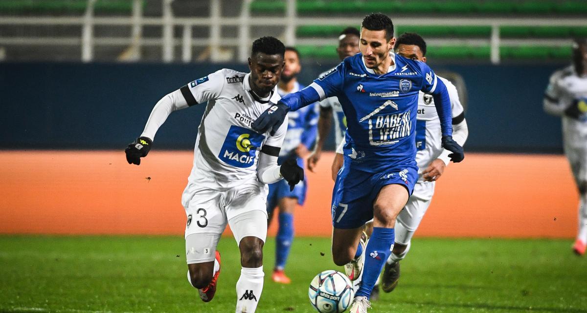 Ligue 2 : Caen et Troyes au rendez-vous, les résultats et le classement