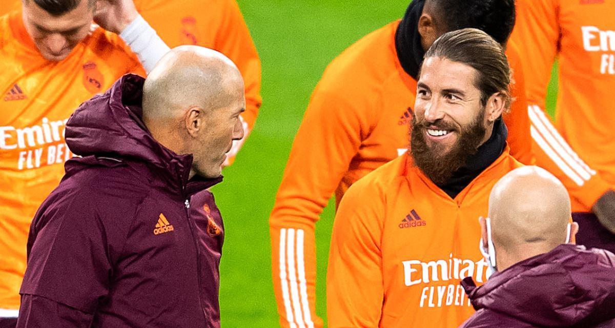 Real Madrid - Mercato : Zidane se prononce à nouveau sur l'avenir de Ramos