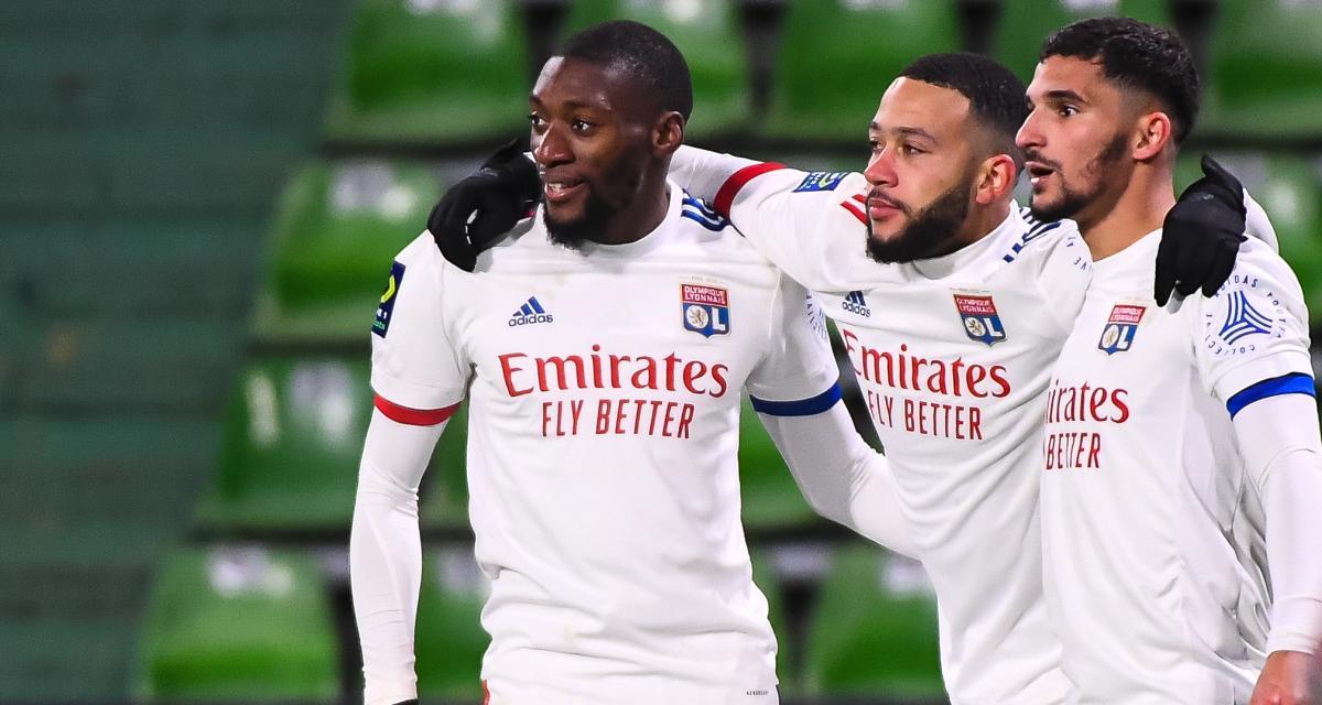 Résultat Ligue 1 : Nice 1-2 Lyon, les Gones devant à la pause