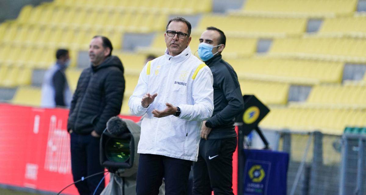 FC Nantes – Angers (1-1) : Collot refuse de se cacher derrière la fronde des supporters