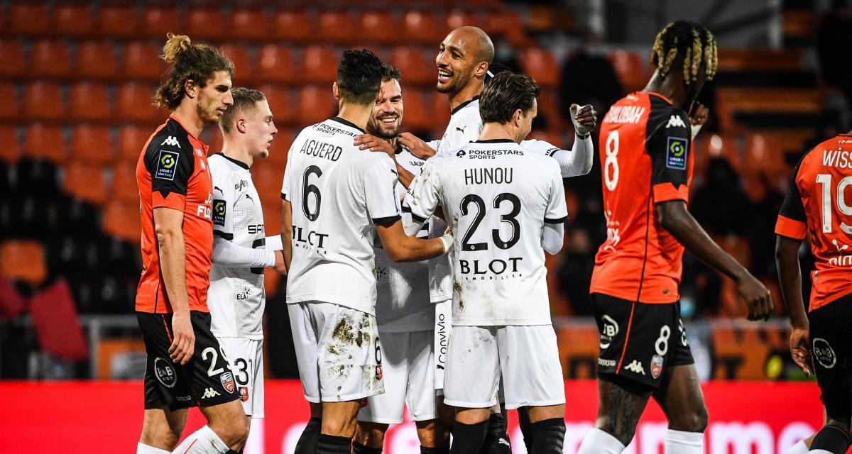 Résultat Ligue 1 : le Stade Rennais ne fait pas de cadeau à Lorient (3-0)