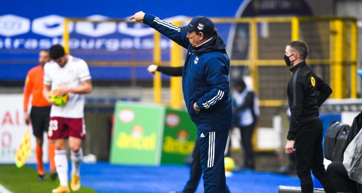 RC Strasbourg – Girondins (0-2) : Gasset savoure un match référence, Laurey pointe une leçon infligée à ses hommes