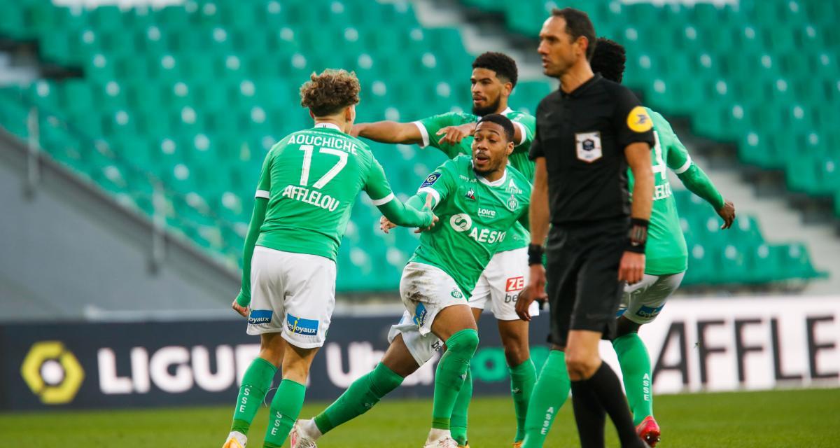 ASSE – Nîmes (2-2): Ménès voit des Verts loin d'être tirés d'affaires