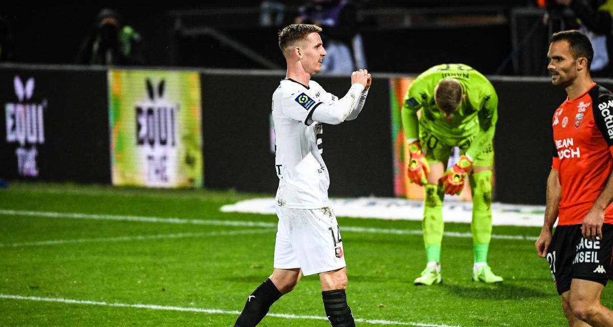 FC Lorient – Stade Rennais(0-3): après sa gueulante, Bourigeaud salue le réveil rennais