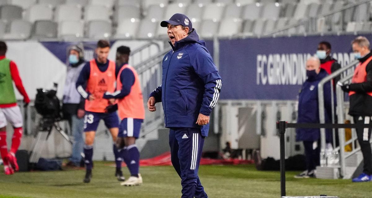 Girondins : battu par Reims, Gasset fracasse ses joueurs