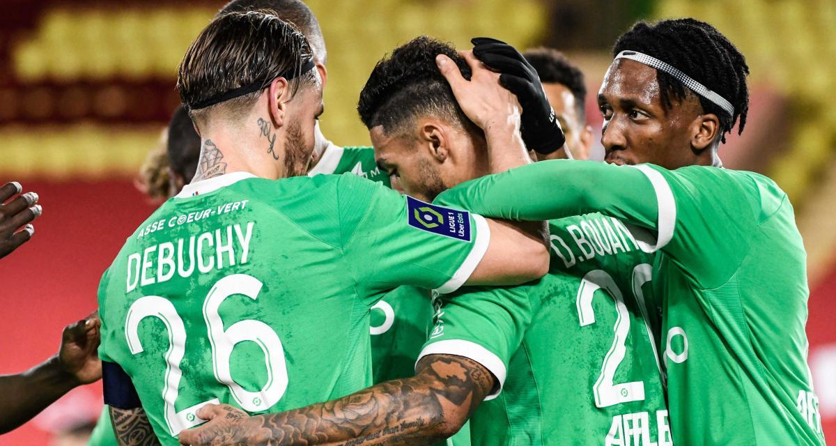 AS Monaco – ASSE (2-2) : Debuchy et Bouanga avaient montré la voie... les notes des Verts à Louis II