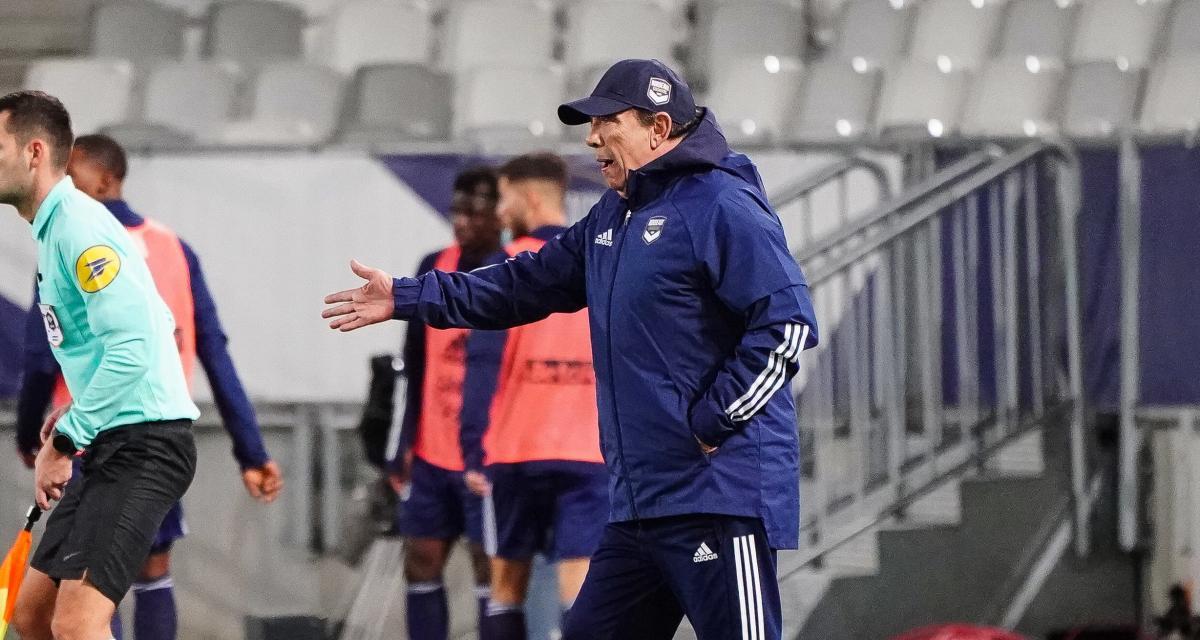 Girondins – Mercato : Gasset reçoit deux signaux inquiétants pour janvier