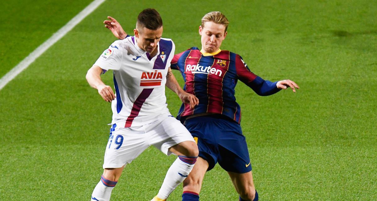 Résultat Liga : le FC Barcelone déçoit encore sans Messi face à Eibar (1-1)