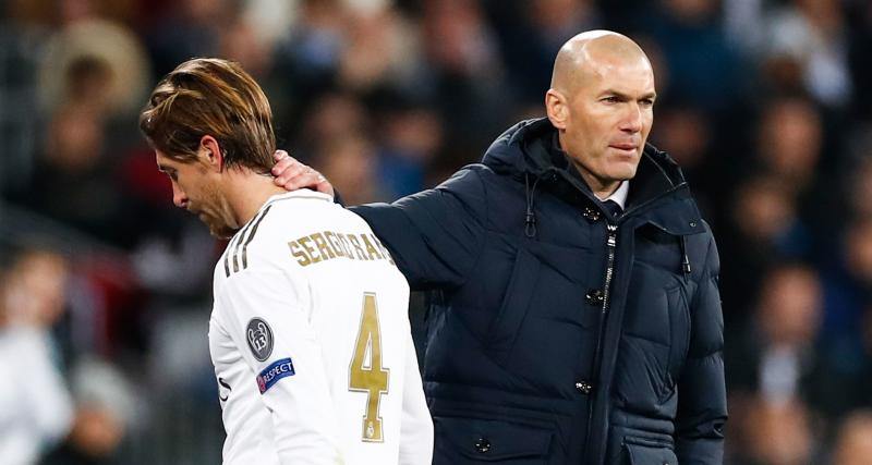 Real Madrid - Mercato : Zidane met un coup de pression pour Ramos