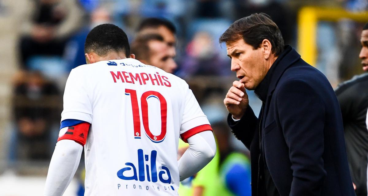 OL - Mercato : Garcia a convaincu Depay de rester jusqu'en juin