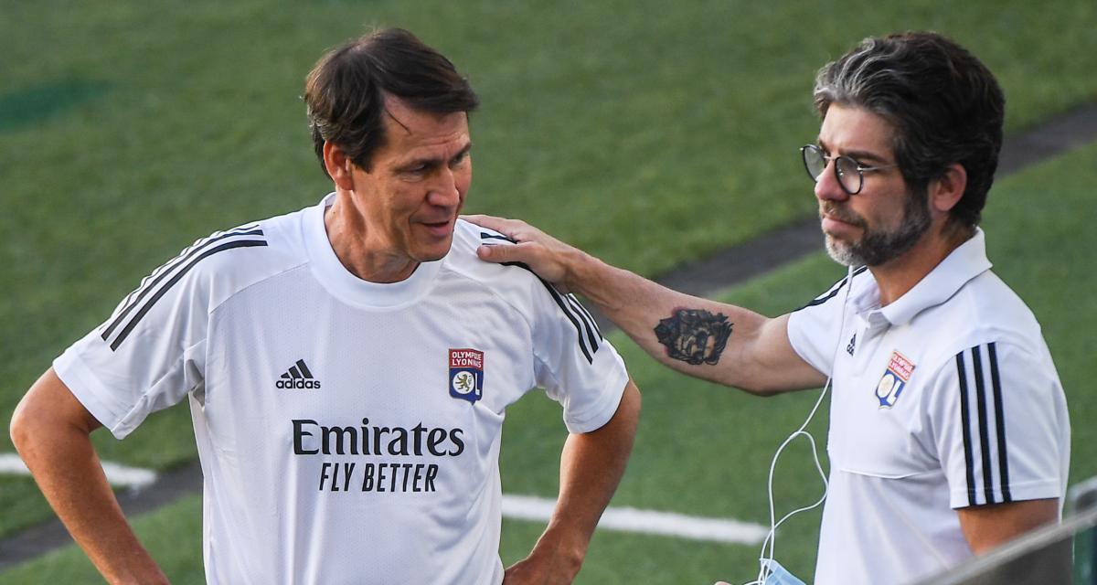 OL : la mise au point de Garcia vis-à-vis de Juninho