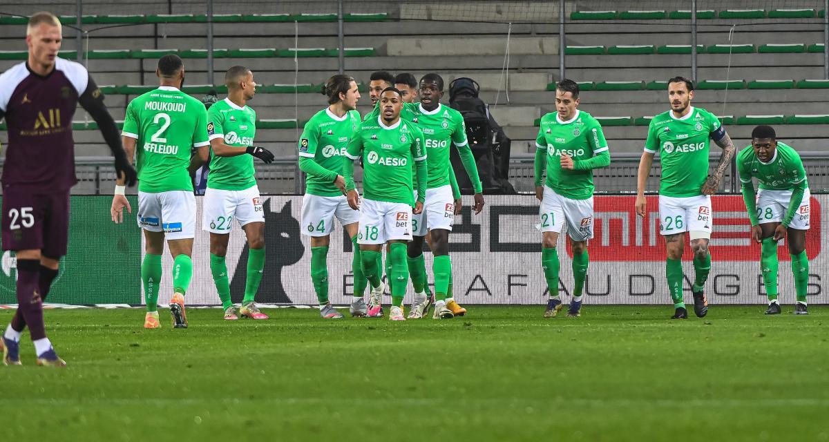 ASSE – PSG (1-1) : Hamouma et Moulin décisifs... les notes des Verts