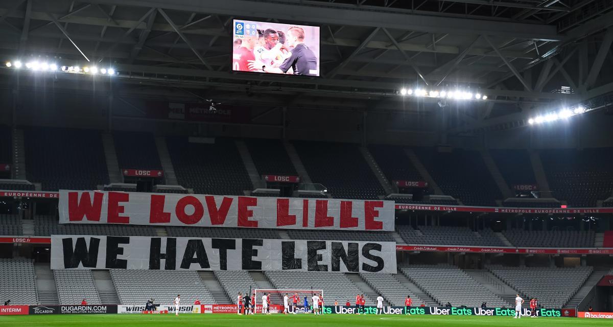 RC Lens : la réponse cash des supporters du LOSC à l'arrivée de Roudet