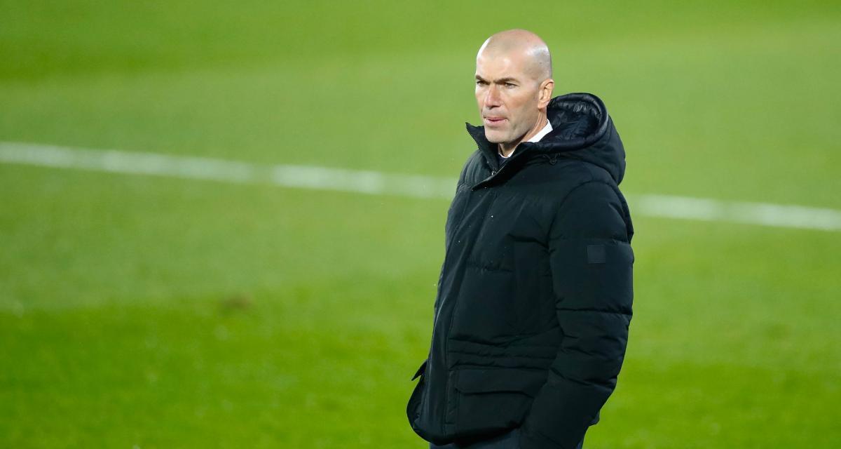 Real Madrid : cas contact, Zidane pourra quand même diriger les Merengue ce week-end