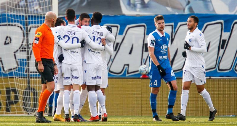 Résultat Ligue 2 : Grenoble 2 - 2 AJ Auxerre (terminé)