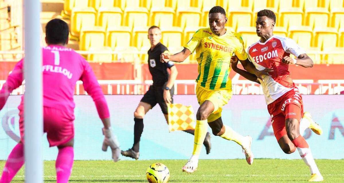 FC Nantes : Kolo Muani coince, un buteur de l'ombre tape à la porte de Domenech